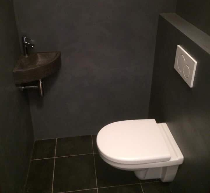 beton cir smaakvol in de kleine ruimte verbouwexpert. Black Bedroom Furniture Sets. Home Design Ideas