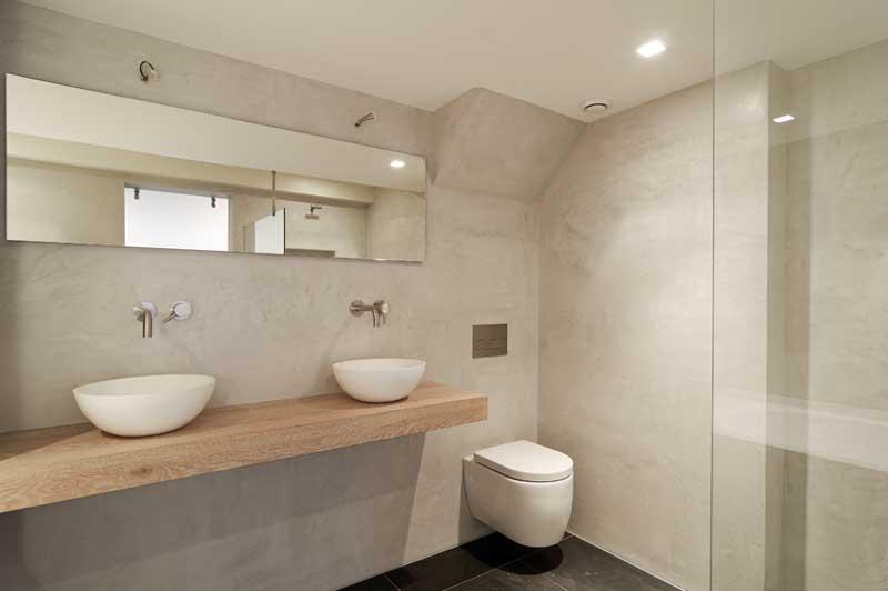 Badkamer Tegels Amsterdam : Elegant en tijdloos betonstucwerk mortex beal of beton cire